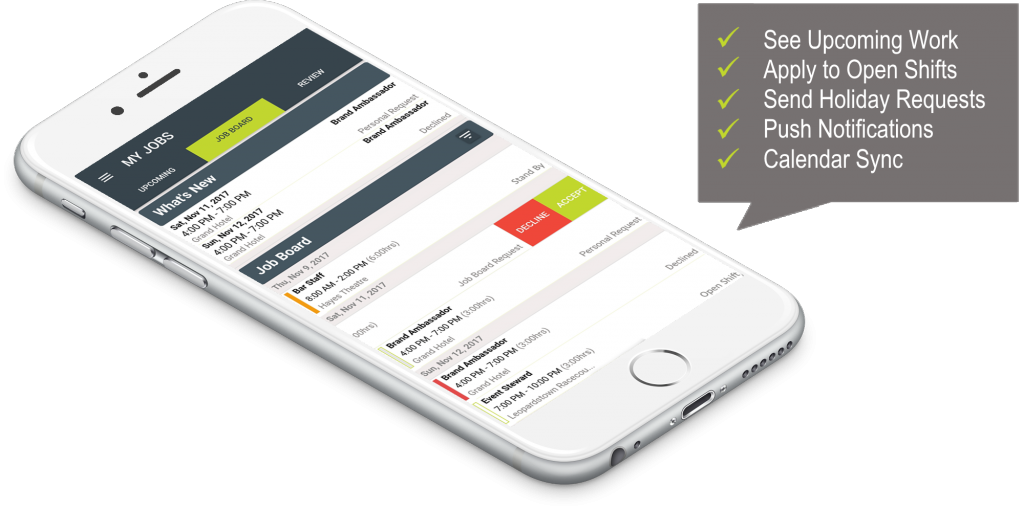 uTRAC App for Staff